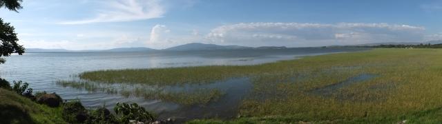 Lake Awassa  view from the monkey park.